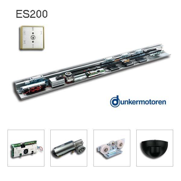 Dorma ES 200 compatible automatic sliding door opener kit