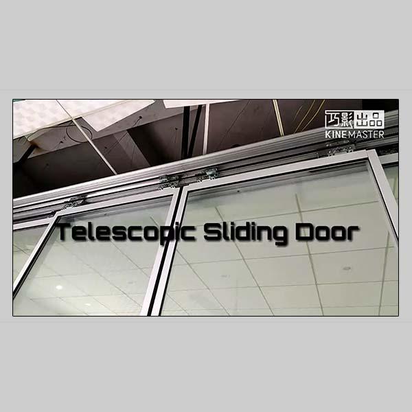 EC100 SLM telescopic door