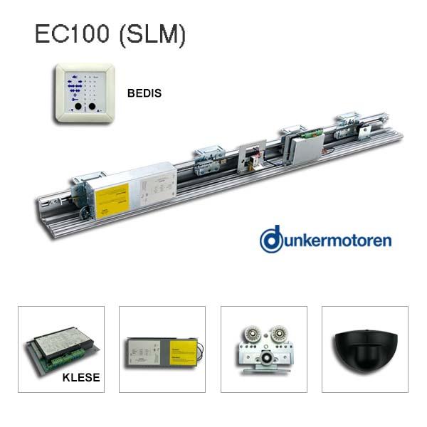 Kaba/Gilgen SLM compatible automatic sliding door opener kit