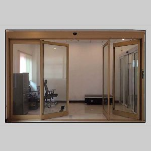 Fire-prevention sliding door, break-out sliding door
