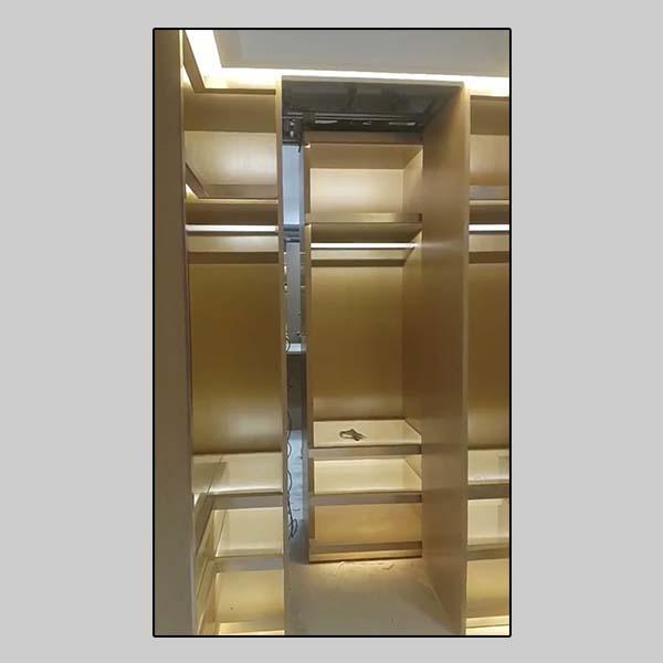secret closet (movable cabinet)